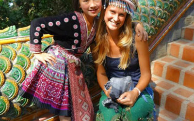 Living Abroad in India and Studying Buddhism: Meet Klara!